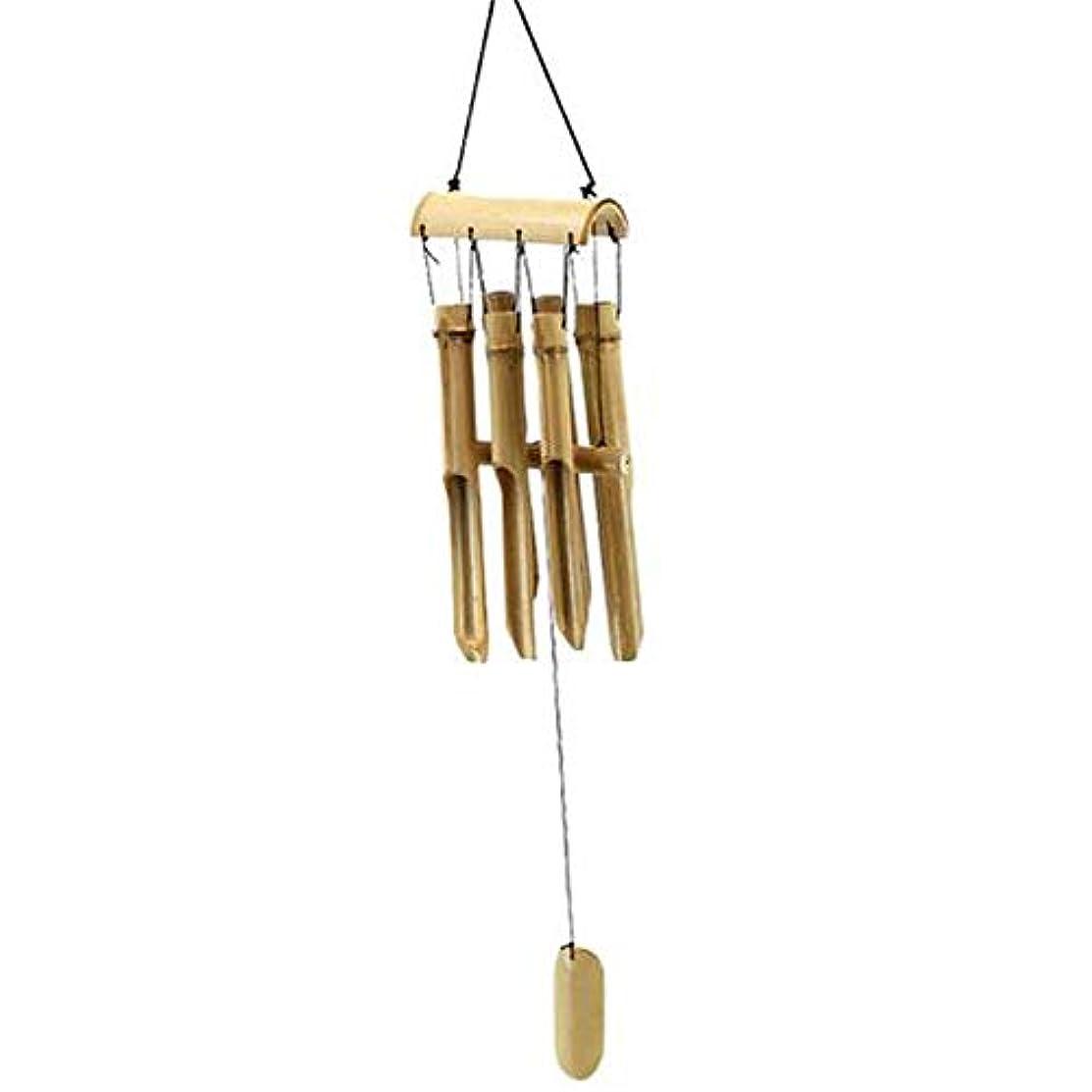 騒々しいハブ負荷Aishanghuayi 風チャイム、中国のスタイルヴィンテージ手作りの竹風チャイム、ブラウン、全身について67CM、90CM,ファッションオーナメント (Size : 90cm)