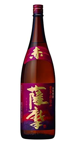 薩摩酒造 赤薩摩 25度 1800ml  [鹿児島県]