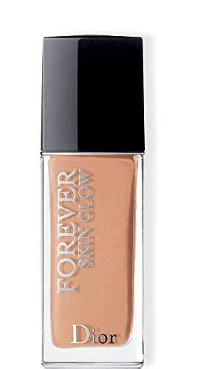 雪誠意傑作クリスチャンディオール Dior Forever Skin Glow 24H Wear High Perfection Foundation SPF 35 - # 3CR (Cool Rosy) 30ml/1oz並行輸入品