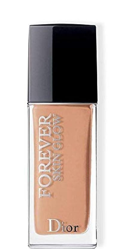 金属絵歩行者クリスチャンディオール Dior Forever Skin Glow 24H Wear High Perfection Foundation SPF 35 - # 3CR (Cool Rosy) 30ml/1oz並行輸入品