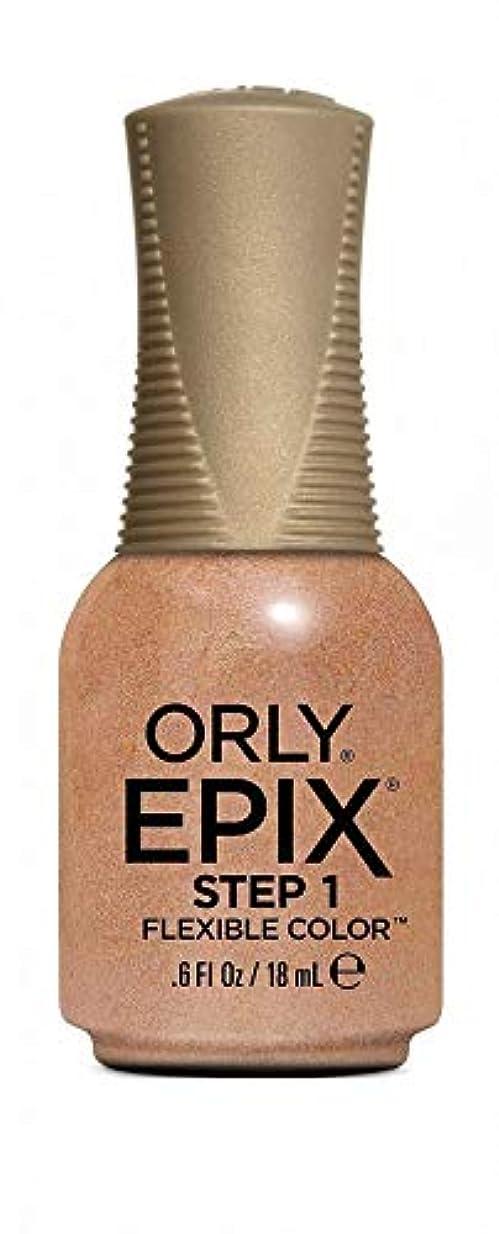 ランドマークうぬぼれた衣服Orly Epix Flexible Color Lacquer - Million Dollar Views - 0.6oz/18ml