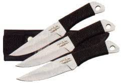 UNITED(ユナイテッド) GH-949ヒブンコードグリップスローイングナイフ小3本セット