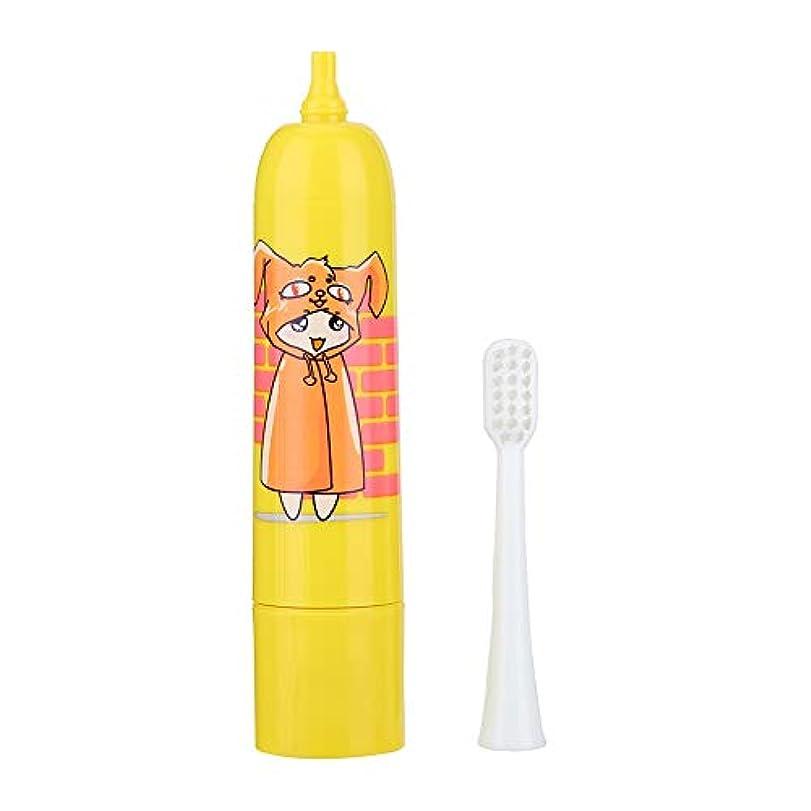 懺悔郵便屋さんスロット電動ソニック歯ブラシ防水ソフトヘアキッド(1#)