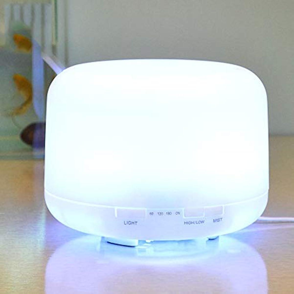 静的リズム調和のとれた1000ml のエッセンシャルオイルディフューザー、プレミアム超音波アロマセラピー香りオイルディフューザー気化器、タイマーと水なしオートオフ、7 LED ライトカラー