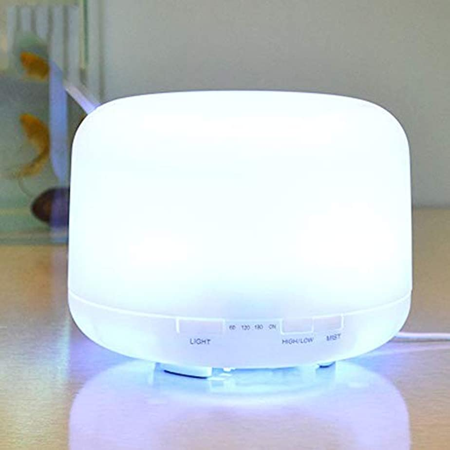 前文千銀行1000ml のエッセンシャルオイルディフューザー、プレミアム超音波アロマセラピー香りオイルディフューザー気化器、タイマーと水なしオートオフ、7 LED ライトカラー