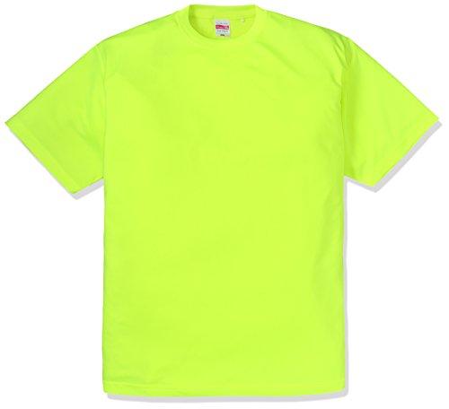 (ユナイテッドアスレ)UnitedAthle 4.7オンス ドライ シルキータッチ Tシャツ 508801 [メンズ] 111 蛍光イエロー XL