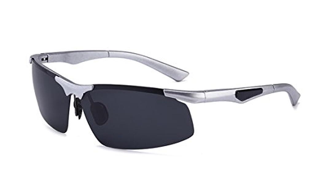 群れ不従順コレクション偏光レンズ スポーツ サングラス 超軽量 クリアレンズ 紫外線カット 釣り 野球 テニス 運転 ジョギング