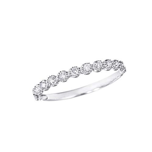 [ジュエリーツツミ]JEWELRY TSUTSUMI プラチナダイヤモンドリング RFR088 7号