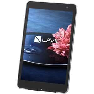 NEC タブレットパソコン LaVie Tab W TW708/BASクールシルバー(Office Home&Business 2013) PC-TW708BAS