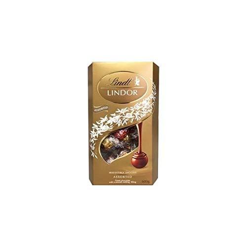 リンドール アソート チョコレート 600グラム ダーク,ヘーゼルナッツ,ミルク,ホワイトの4種類アソート Lindt LINDOR ASSORTED CHOCOLATE 600g DARK,WHITE,HAZELNUT,MILK