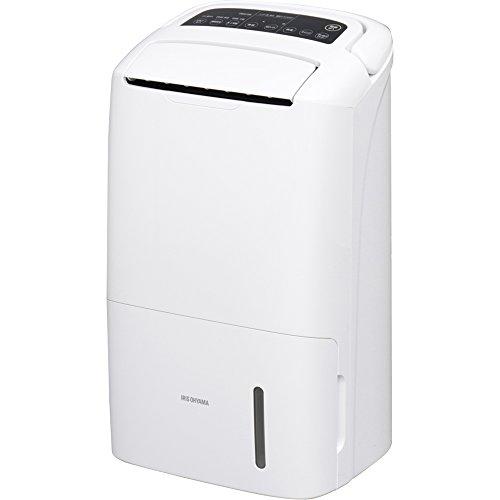 アイリスオーヤマ 空気清浄機能付除湿機 コンプレッサー式 白 DCE-120 567494