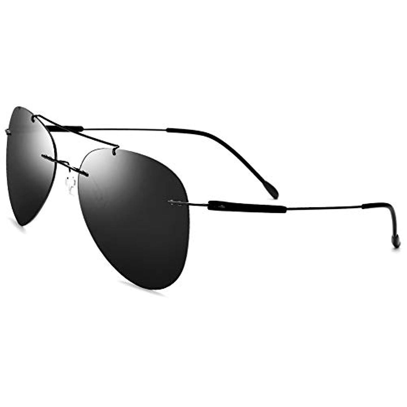 最小化するダイバー変色するOstulla メンズサングラスUVカット絶縁放射線超軽量デザインスタイリッシュな丈夫な品質保証 気配りの行き届いたサービス (サイズ : ワンサイズ)