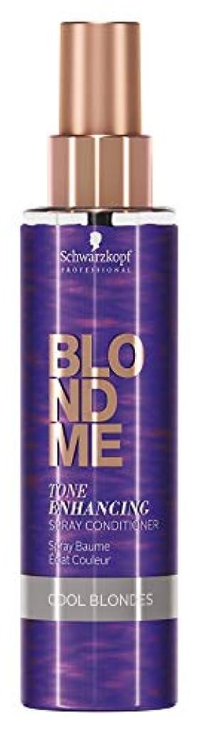 オーバーコートシャンパン対BlondMe クールな金髪のためのスプレーコンディショナー、5.0オンスの強化BLONDMEトーン 5オンス