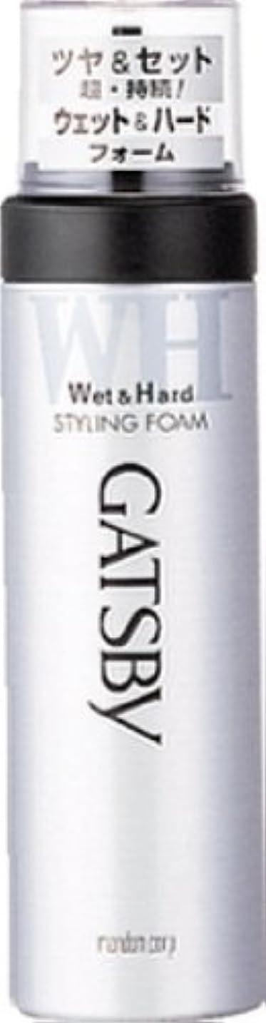 GATSBY(ギャツビー) スタイリングフォーム ウェット&ハード 185g