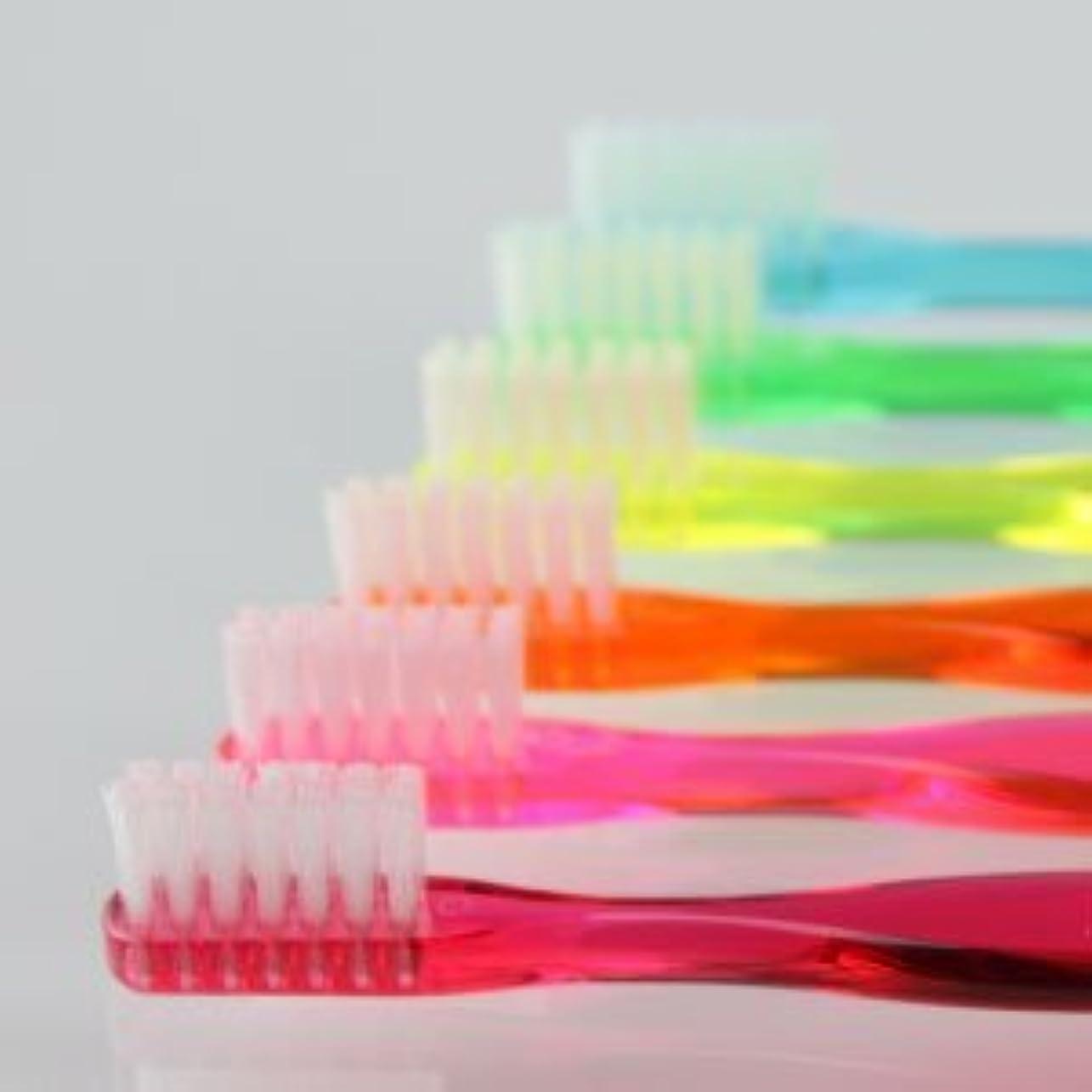 飲食店ガラガラファブリックサムフレンド 歯ブラシ #20(ミニ) 6本 ※お色は当店お任せです