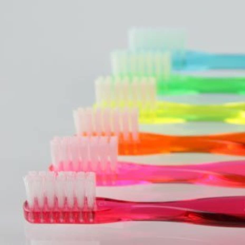 良さ三求人サムフレンド 歯ブラシ #20(ミニ) 6本 ※お色は当店お任せです