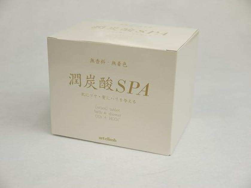 潤炭酸SPA  BS (炭酸泉タブレット)60g×10錠入 カルボ泉