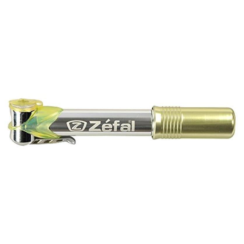 かもめパイロット旋律的Zefal Micro Profileミニ自転車ポンプ(ブラック)