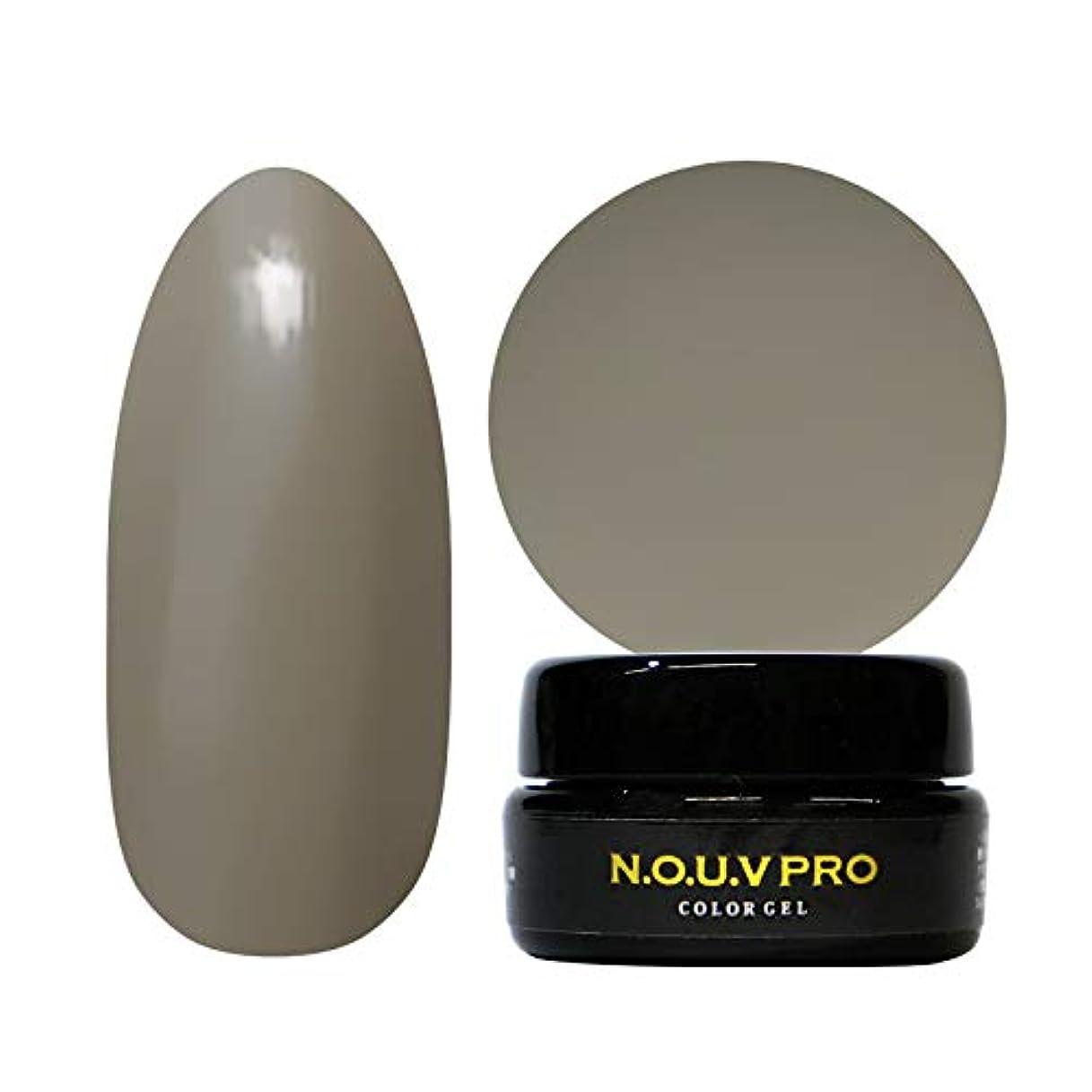 作業デコラティブ有益NOUV Pro ノーヴプロ ジェルネイル カラージェル G09 トープ 4g