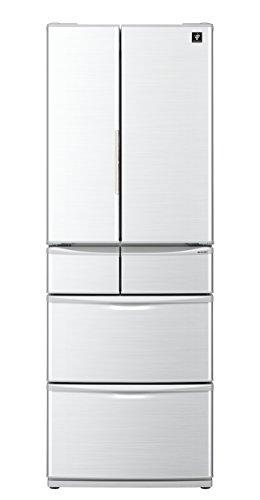 シャープ プラズマクラスター搭載 冷蔵庫 455L グレー系 ...