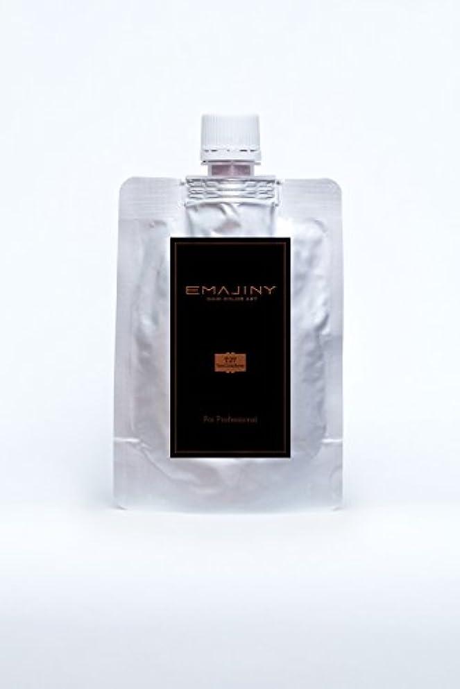 カバレッジ従順な適合EMAJINY Terra Cotta Brown T27(ブラウンカラーワックス)茶プロフェッショナル100g大容量パック【日本製】【無香料】