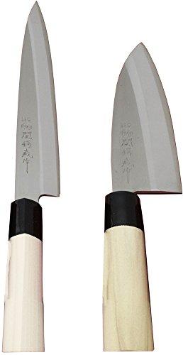 関鍔蔵作 2本組みセット(刺身・出刃)(1セット)