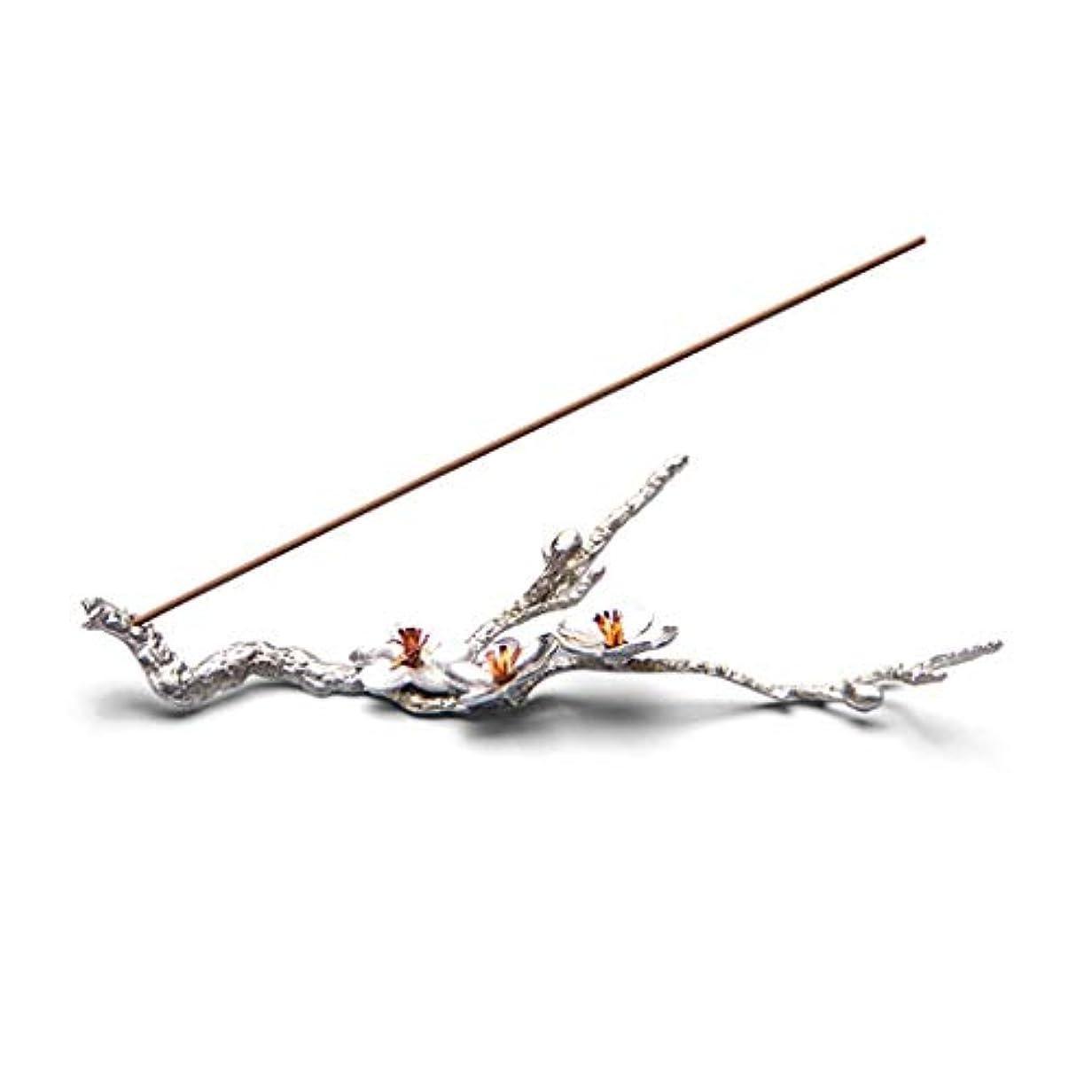 芳香器?アロマバーナー 純粋なブリキ梅香スティック禅禅香クリエイティブ日本の手作りライン香横になっている香炉 アロマバーナー