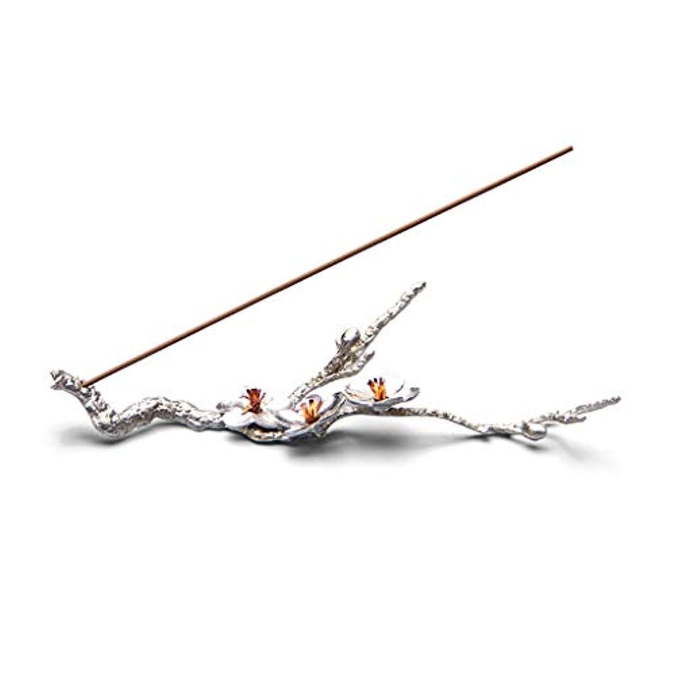 クスクス挨拶するネイティブホームアロマバーナー 純粋なブリキ梅香スティック禅禅香クリエイティブ日本の手作りライン香横になっている香炉 アロマバーナー