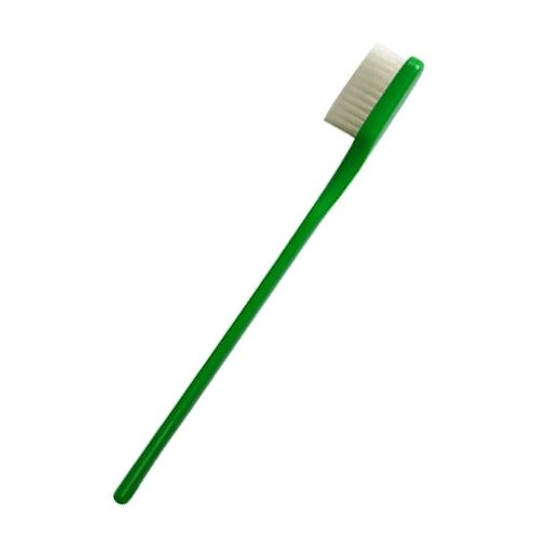 母音ロック解除ずらすPHB 歯ブラシ 大人用 グリーン