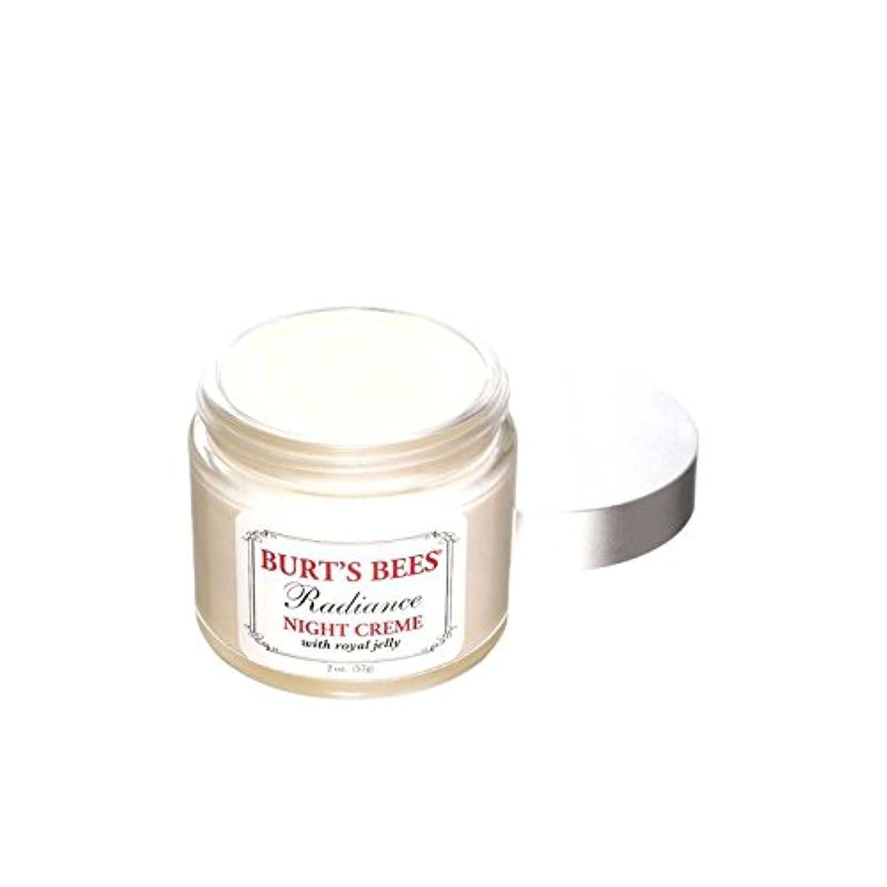 背骨正しいうれしいBurt's Bees Radiance Night Creme (Pack of 6) - バーツビー輝きの夜のクリーム x6 [並行輸入品]