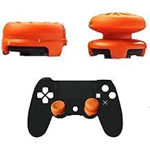 NG オリジナル PS4コントローラー用 FPSゲーム フリーク RG 可動域アップ アシストキャップ 二個入り 簡易パッケージ FPSアシストキャップ fpsフリーク Analog Stick Joystick Controller Performance Thumb Grips for PS4 Highタイプ Lowタイプ オレンジ FOX KILLER (オレンジ) [並行輸入品]