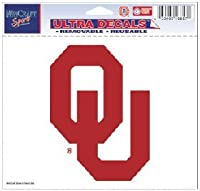 """Oklahoma Sooners Removable 5"""" x6""""車デカールby WinCraft"""