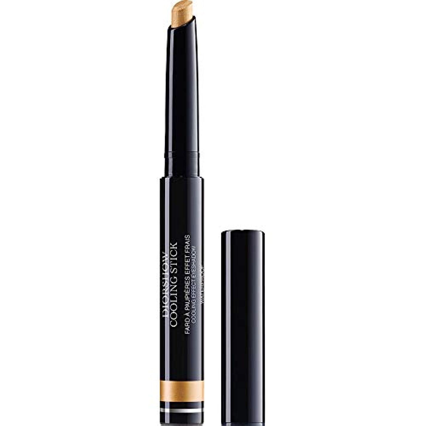 拒否政治家ほぼ[Dior ] ディオールDiorshow冷却スティックアイシャドウ1.6グラム002 - 金スプラッシュ - DIOR Diorshow Cooling Stick Eyeshadow 1.6g 002 - Gold...