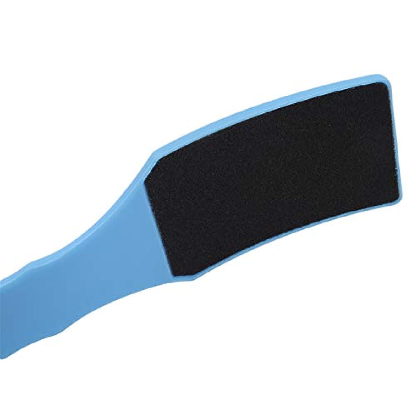 寛解イヤホン日付ZALING 湾曲した形状の足やすりケアカルスファイルハードスキンリムーバーフィートペディキュア角質除去ペディキュアフットケアツール