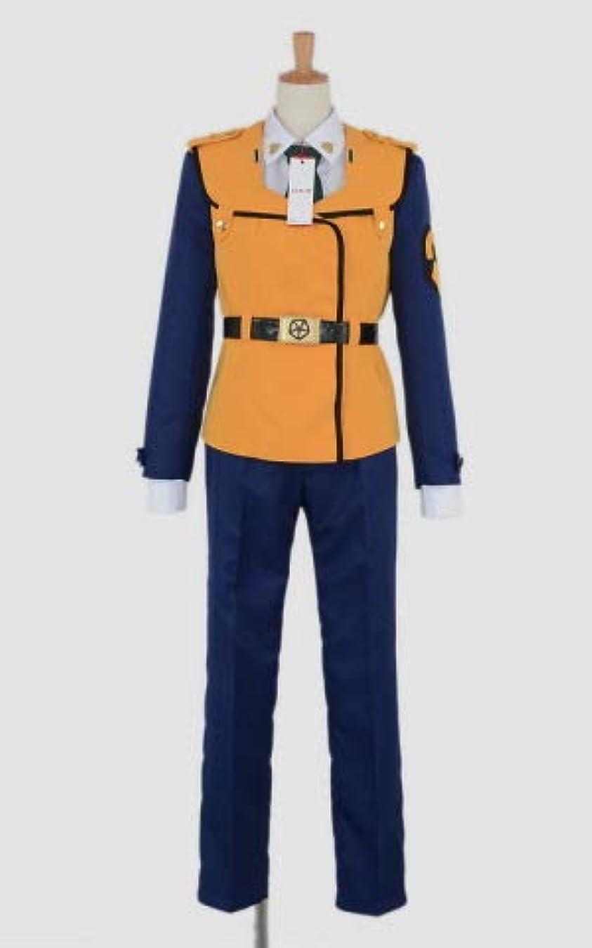邪魔する草ソース機動警察パトレイバー 特車二課女子制服 冬服 帽子付き コスプレ衣装 [3009] 女性XL