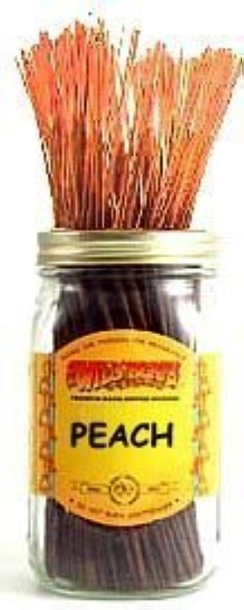 Peach - 100 Wildberry Incense Sticks [並行輸入品]