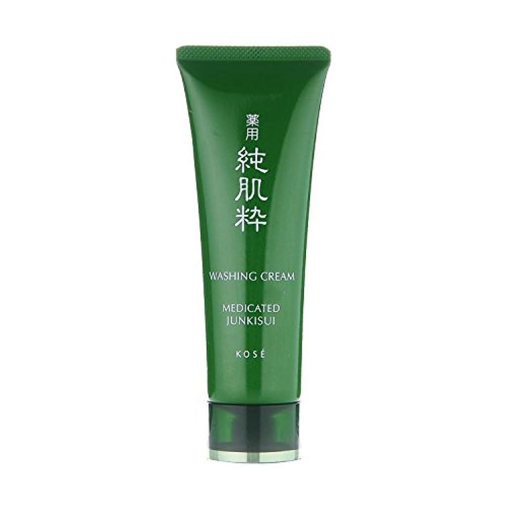 広い召喚する教える薬用 純肌粋 洗顔クリーム 120g <24304>