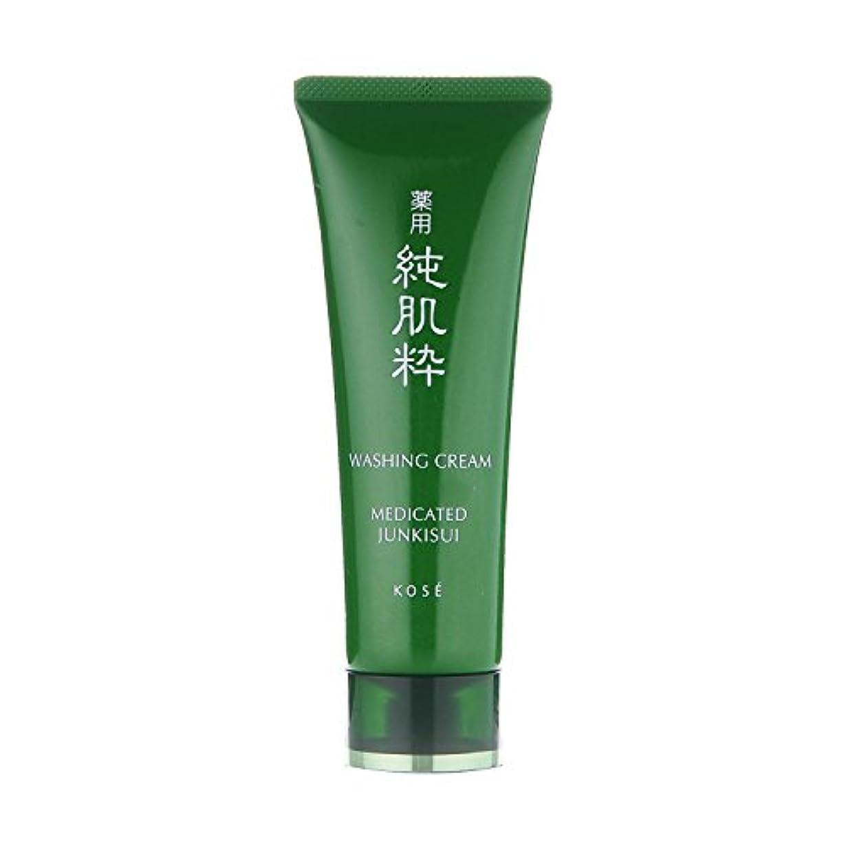 寄付する醜いめまい薬用 純肌粋 洗顔クリーム 120g <24304>