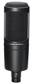 [오디오 테크니카 고음질 콘덴서 소형 마이크] audio-technica 오디오테크니카 콘덴서 마이크로 폰 AT2020-AT2020