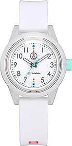[キューアンドキュー スマイルソーラー]Q&Q SmileSolar 腕時計 ソーラー アナログ マッチングスタイル 10気圧防水 直径32mm ホワイト RP29-009 レディース