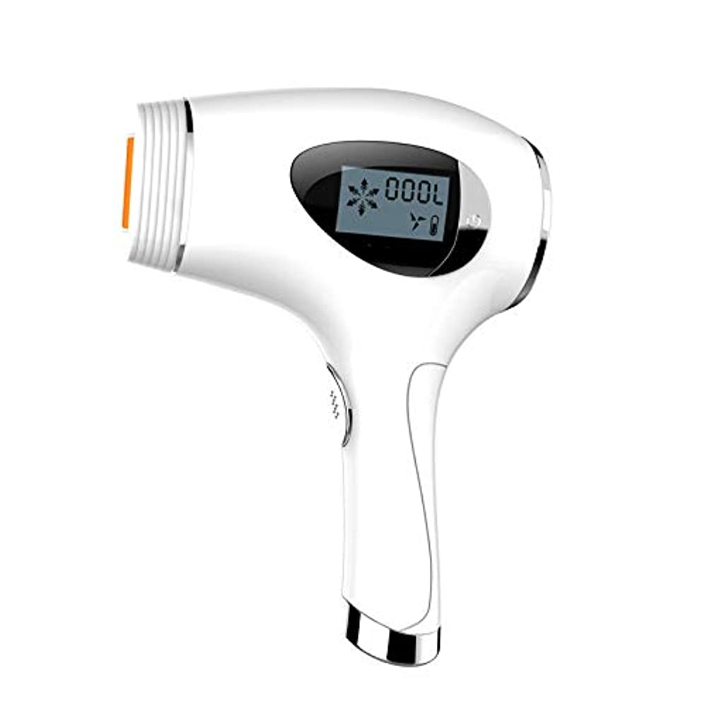 IPL誘導レーザー脱毛器、痛みのない家庭用アイスシェービングシェーバー、300 000回のフラッシュ、永久脱毛