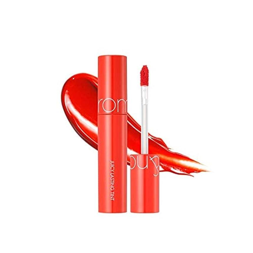 移行する予防接種ささいなローム?アンド?ジューシーラスティングティントリップティント韓国コスメ、Rom&nd Juicy Lasting Tint Lip Tint Korean Cosmetics [並行輸入品] (No.2 ruby red)