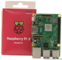 Raspberry Pi 3 Model B+正規代理店品 element14 UK製