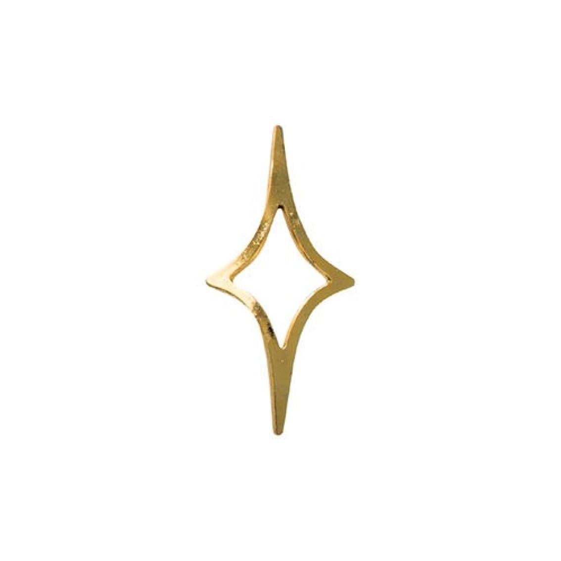 対称全員ハンディリトルプリティー ネイルアートパーツ キラキラ 4S ゴールド 50個