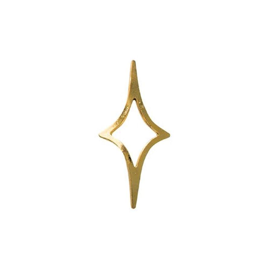 司令官ティッシュ疾患リトルプリティー ネイルアートパーツ キラキラ 4S ゴールド 50個