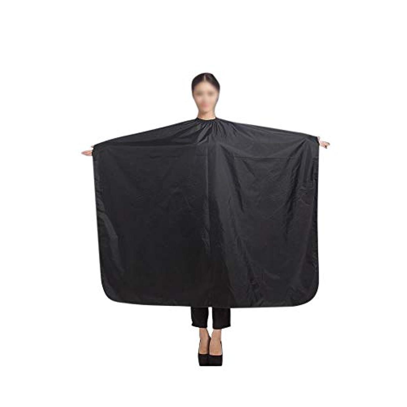 カニ韓国宇宙Lucy Day ケープサロンガウン布をスタイリングするプロ散髪エプロン防水布