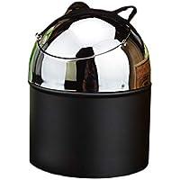 灰皿 - 蓋の灰皿屋内または屋外灰皿のデスクトップのオフィスバーの家の装飾とステンレス鋼