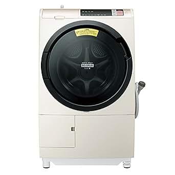 日立 ドラム式洗濯乾燥機 ビッグドラム 左開き 11kg シャンパン BD-SV110AL N
