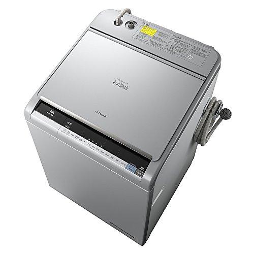 日立 タテ型洗濯乾燥機 ビートウォッシュ 11kg シルバー BW-DX110A S