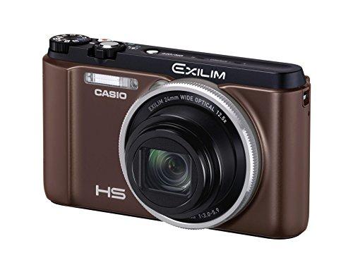 CASIO デジタルカメラ EXILIM EXZR1300BN 自分撮りチルト液晶 5軸手ブレ補正 1610万画素 EX-ZR1300BN ブラウン